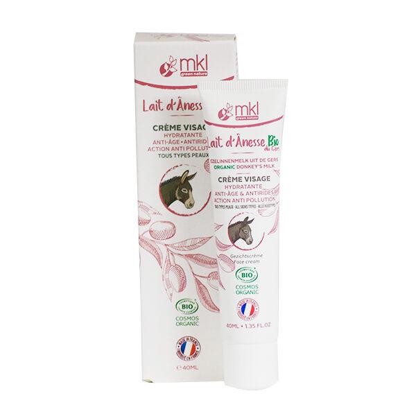 MKL Green Nature Lait d'Anesse Crème Visage Bio 40ml