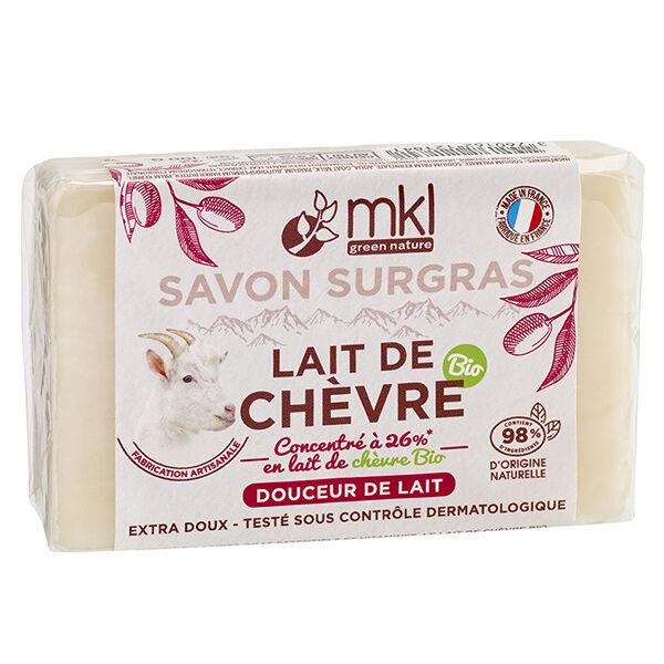 MKL Green Nature Lait de Chèvre Savon Surgras Douceur de Lait 100g