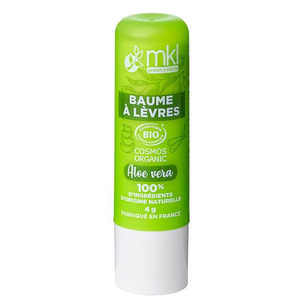 MKL Green Nature Baume à Lèvres Aloe Vera Bio 4g