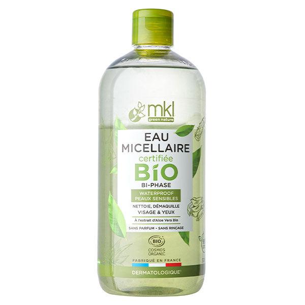 MKL Green Nature Eau Micellaire Bi-Phase Waterproof Bio 500ml