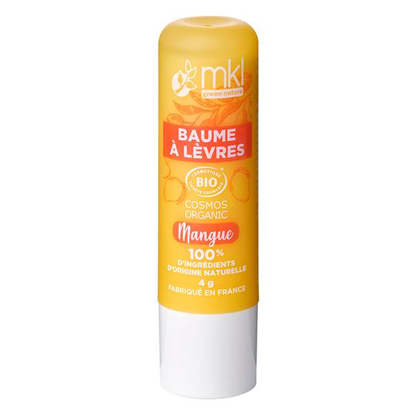 MKL Green Nature Baume à Lèvres Mangue Bio 4g
