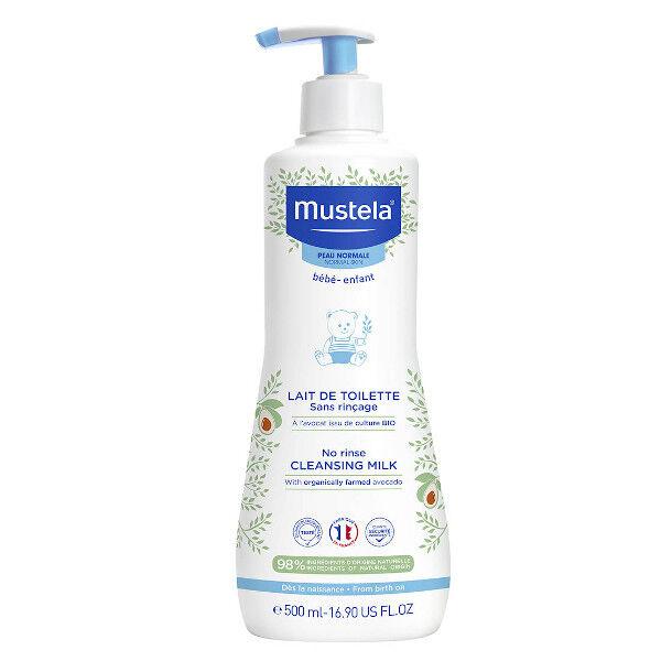 Mustela Lait de Toilette Sans Rinçage 500ml