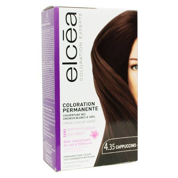 Elcea Coloration Permanente Cappuccino N4.35