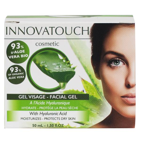Innovatouch Aloe Vera Gel Visage à l'Acide Hyaluronique 50ml