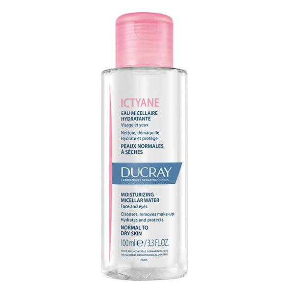 Ducray Ictyane Eau Micellaire Hydratante Visage et Yeux 100ml