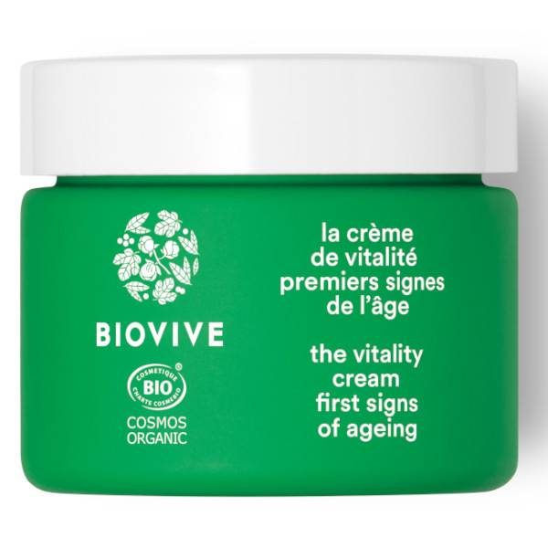 Biovive Visage Crème de Vitalité Bio 50ml