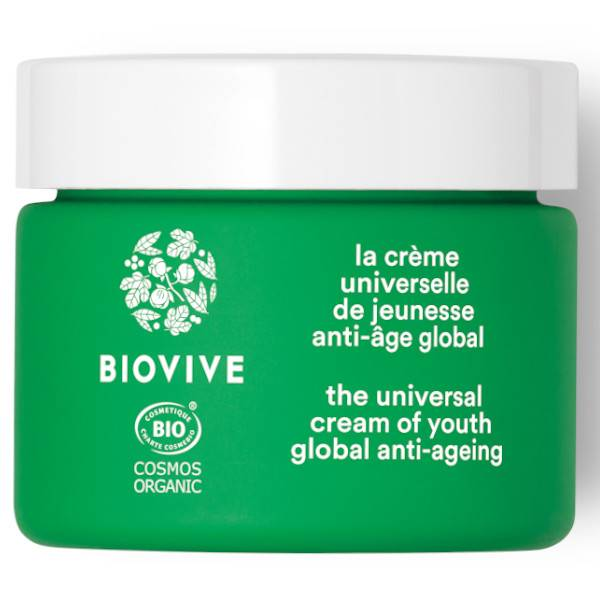 Biovive Visage Crème Universelle Jeunesse Bio 50ml