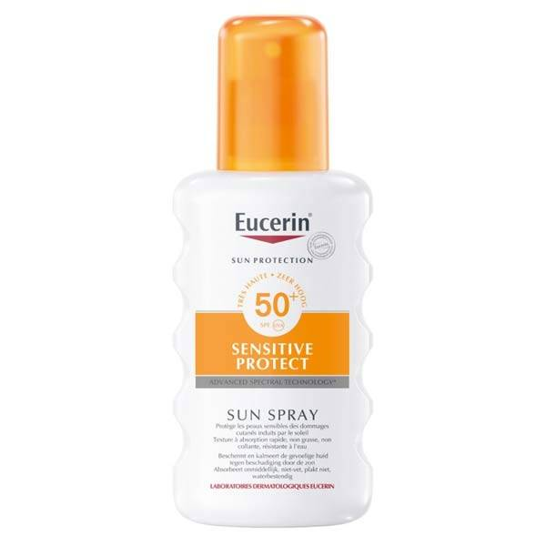 Eucerin Sun Protection Sensitive Protect Spray Solaire SPF50+ 200ml