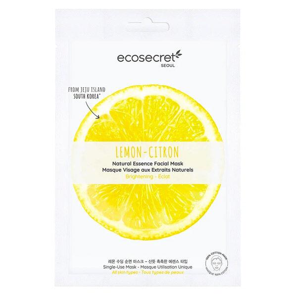 Eco Secret Masque Visage Citron 20ml