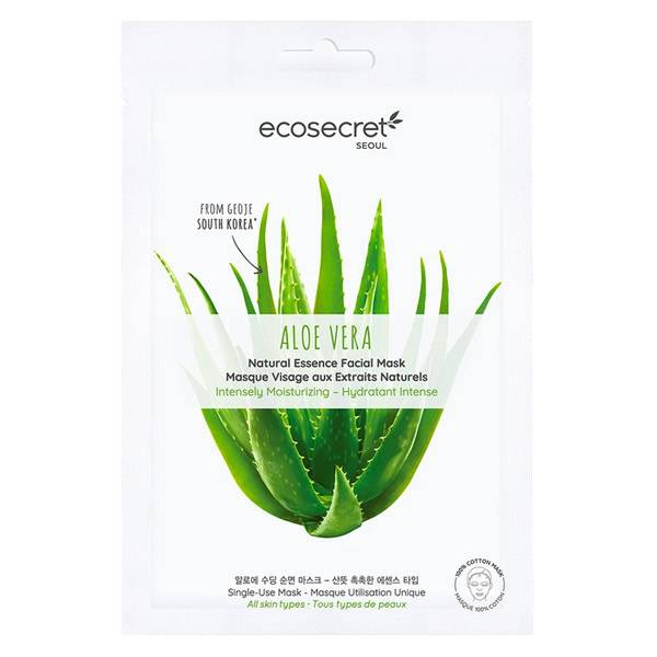 Eco Secret Masque Visage Aloe Vera 20ml