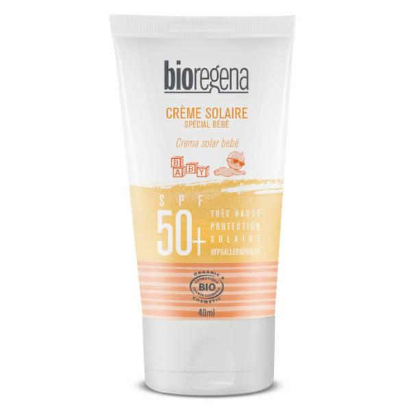 Bioregena Crème Solaire Bébé SPF50+ 40ml
