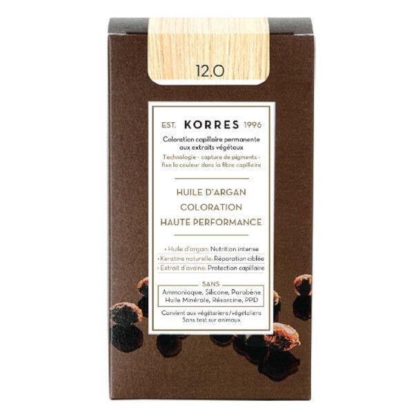 Korres Capillaire Coloration Permanente Blond Spécial 12.0