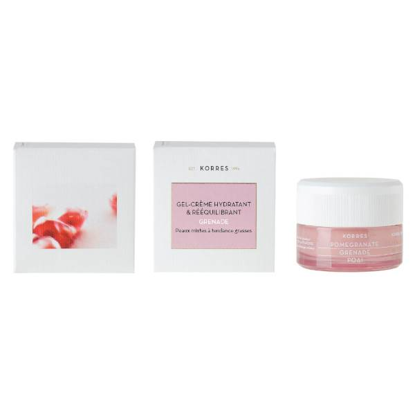 Korres Grenade Gel-Crème Hydratant & Rééquilibrant 40ml