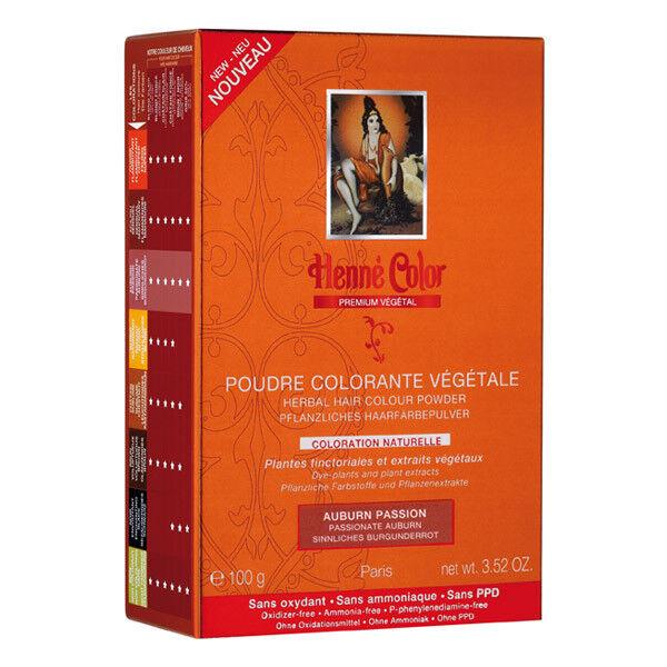 Henne Color Poudre Colorante Auburn Passion 100g