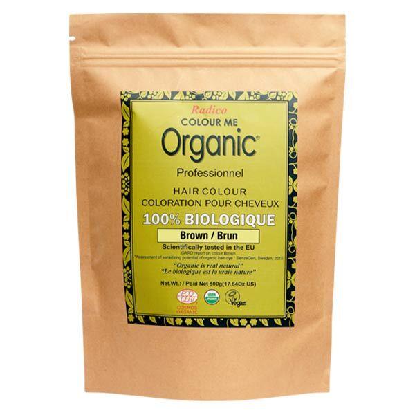 Radico Colour Me Organic Professionnel Coloration Végétale Brun Bio 500g