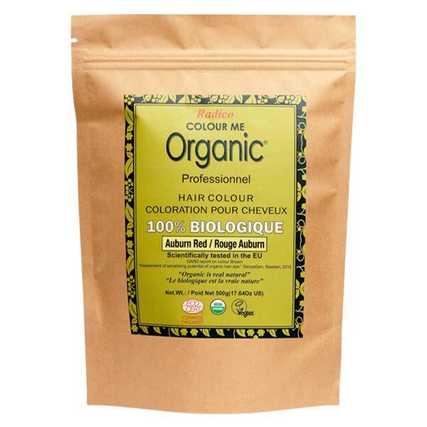 Radico Colour Me Organic Professionnel Coloration Végétale Rouge Auburn Bio 500g