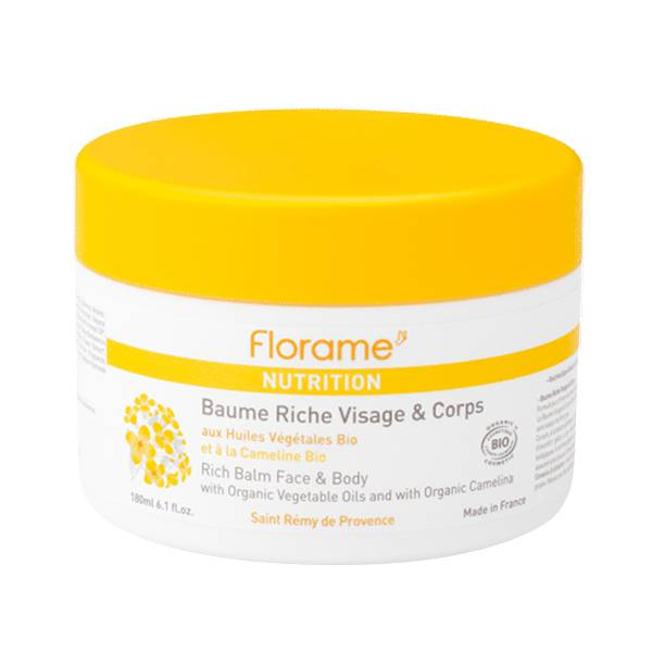 Florame Visage & Corps Baume Riche Bio 180ml
