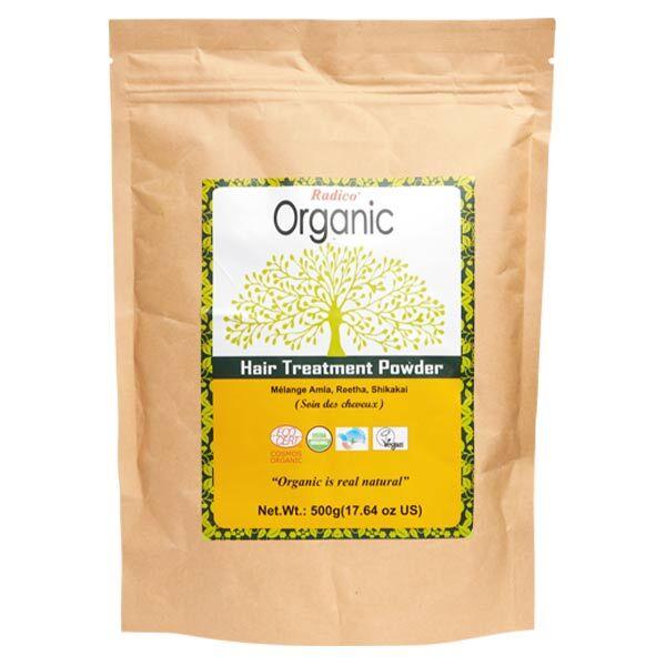 Radico Organic Poudre Indienne Mélange Amla Reetha Shikakai Bio 500g