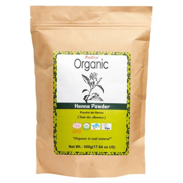 Radico Organic Poudre Indienne Henné Bio 500g