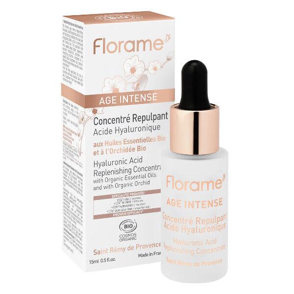 Florame Age Intense Concentré Repulpant Acide Hyaluronique Bio 30ml