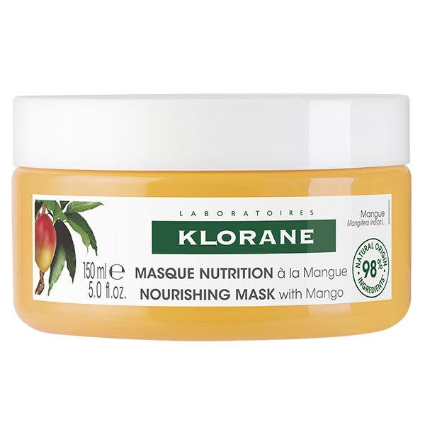 Klorane Beurre de Mangue Masque Capillaire Nutrition 150ml