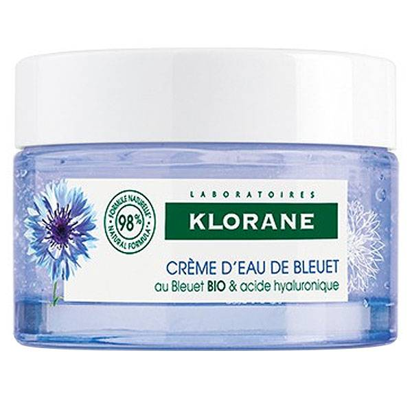 Klorane Bleuet Crème d'Eau de Bleuet Bio 50ml