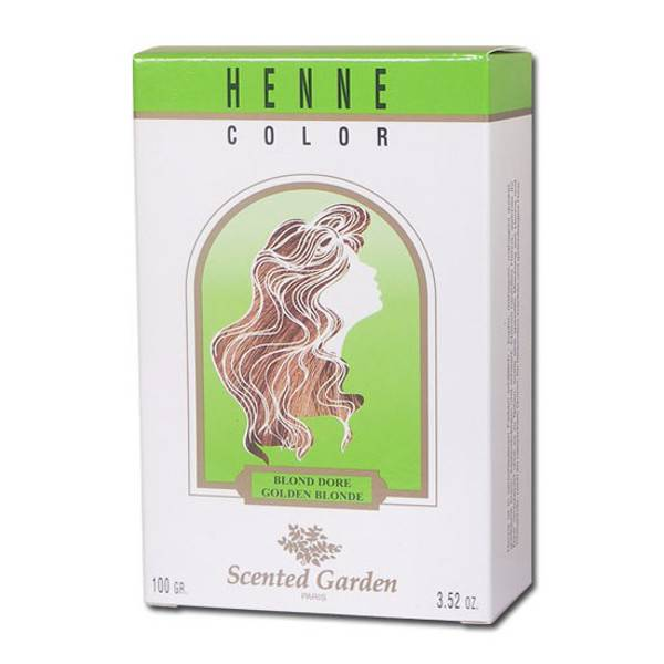 Henne Color Scented Garden Henne Blond Doré 100g