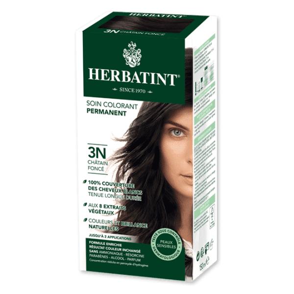 Herbatint Soin Colorant Permanent Couleur Châtain Foncé 3N 150ml