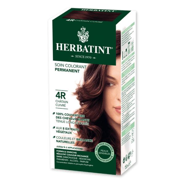 Herbatint Soin Colorant Permanent Couleur Châtain Cuivré 4R 120ml
