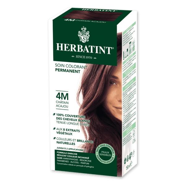 Herbatint Soin Colorant Permanent Couleur Châtain Acajou 4M 150ml
