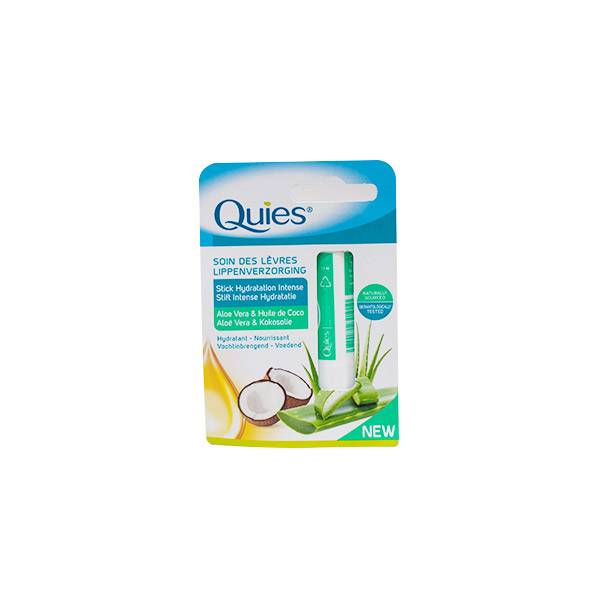 Quies Stick Lèvres Hydratation Intense Aloe Vera et Coco