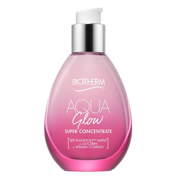 Biotherm Aqua Glow Soin Crème Hydratant Visage Eclat aux Vitamines C 50ml