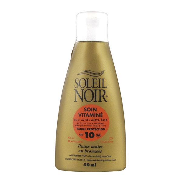 Soleil Noir Soin Vitaminé SPF 10 50ml