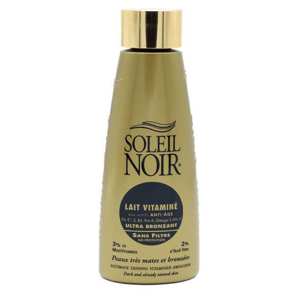 Soleil Noir Corps Lait Vitaminé Ultra Bronzant Sans Filtre 150ml