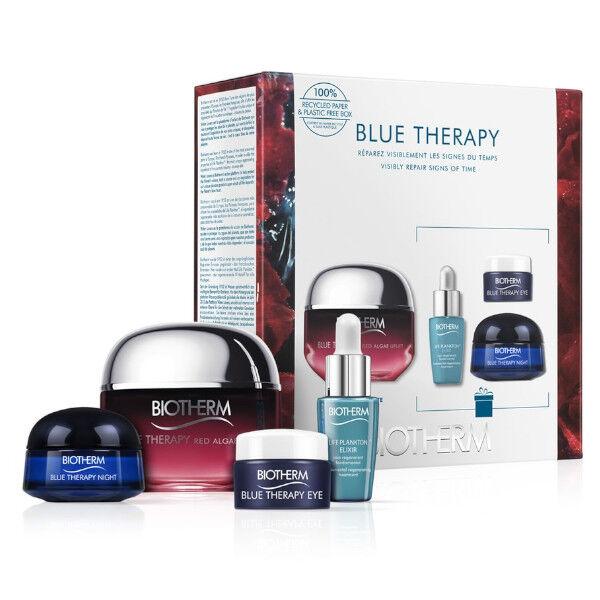 Biotherm Blue Therapy Red Algae Lift Crème Raffermissante Anti-Age 50ml Coffret + 3 Produits Offerts