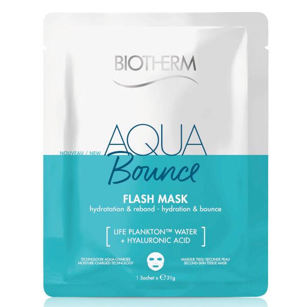 Biotherm Aqua Bounce Masque Visage en Tissu Raffermissant Acide Hyaluronique 1 unité