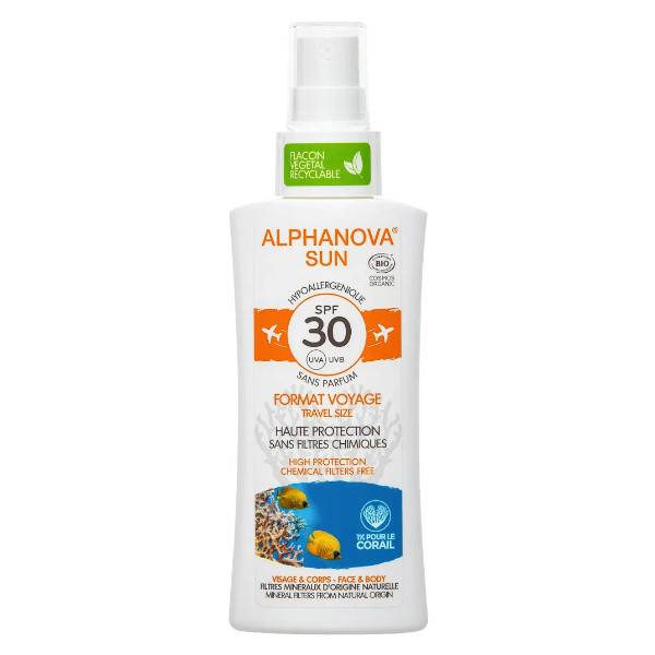 Alphanova Sun Format Voyage SPF30 Bio 90ml