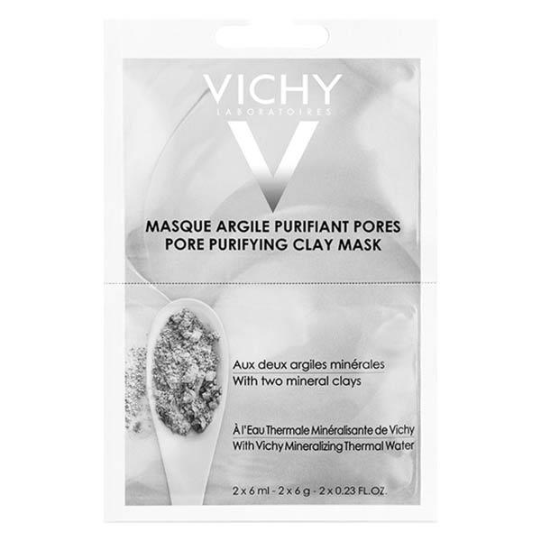 Vichy Masque Visage Argile Purifiant Pores 2 x 6ml
