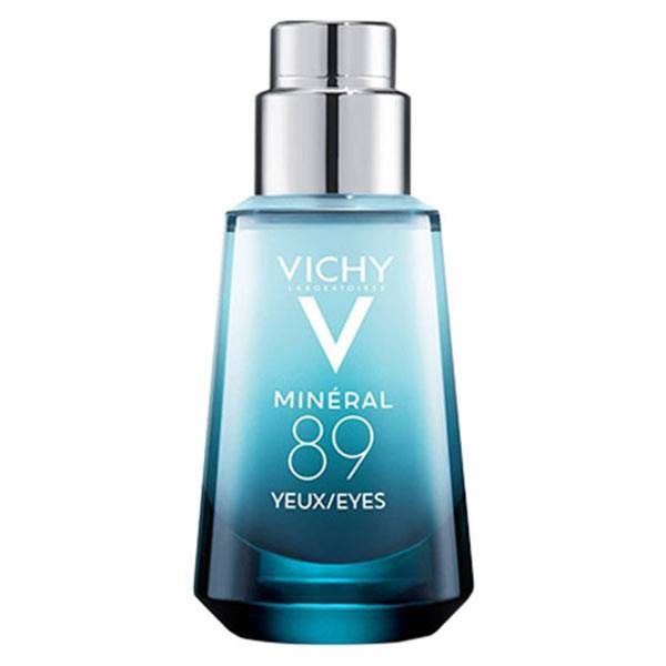 Vichy Mineral 89 Yeux Fortifiant et Réparateur à l'Acide Hyaluronique 15ml