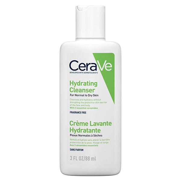Cerave Crème Lavante Hydratante Visage Corps 88ml
