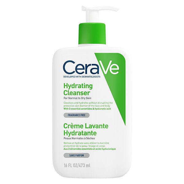 Cerave Crème Lavante Hydratante Visage Corps 473ml