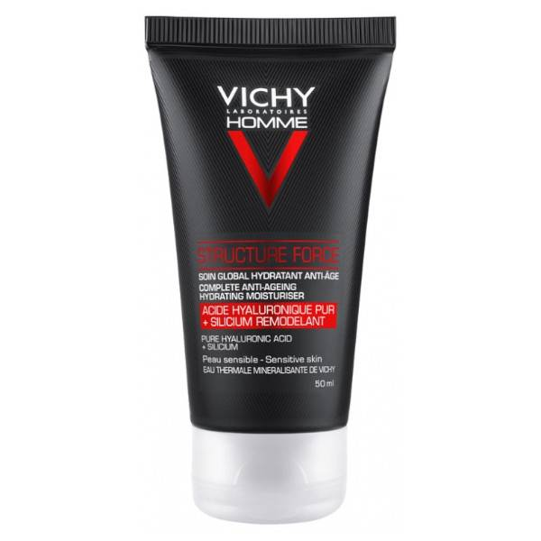 Vichy Homme Structure Force Soin Global Hydratant Anti-Age 50ml