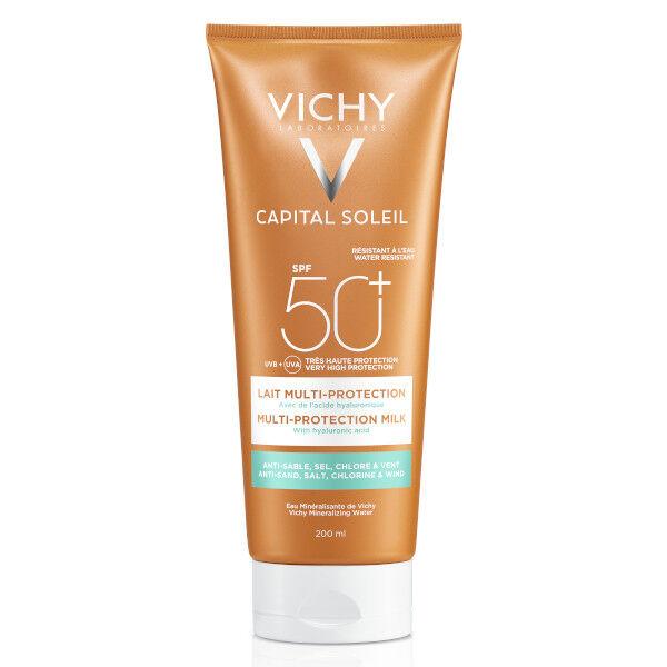 Vichy Capital Soleil Crème Solaire Lait Multi-Protection SPF50+ 200ml