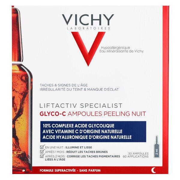 Vichy Liftactiv Specialist Ampoules Glyco-C Peeling Nuit Anti taches 30x2ml