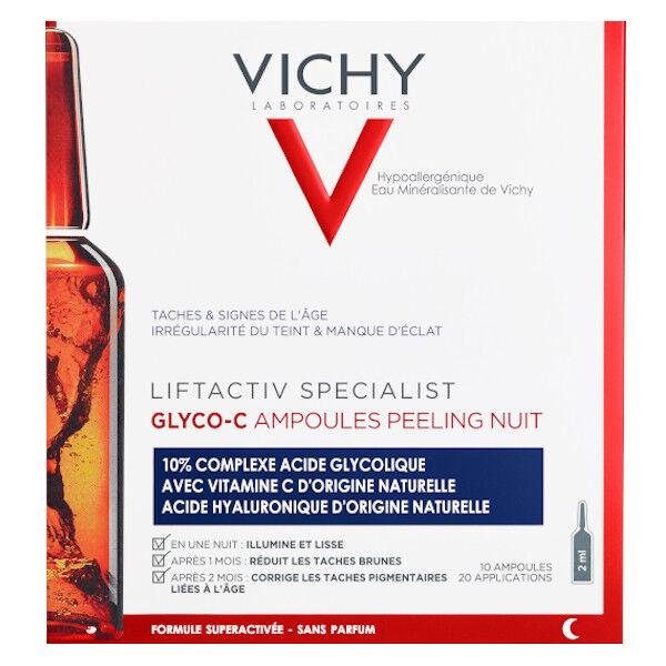 Vichy Liftactiv Specialist Ampoules Glyco-C Peeling Nuit Anti taches 10x2ml
