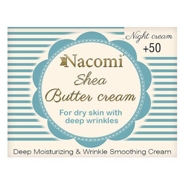 Nacomi Crème De Nuit Beurre de Karité 50ml
