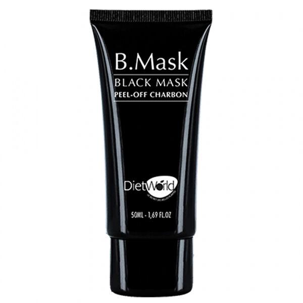 Diet World B Mask Masque Noir au Charbon 50ml