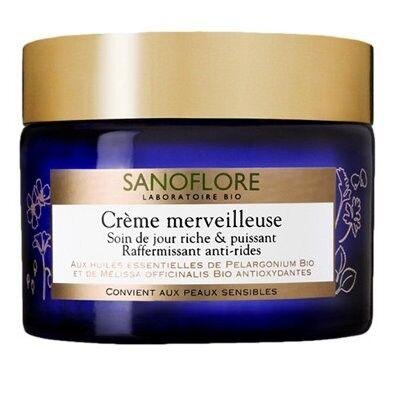 Sanoflore Merveilleuse Crème Hydratante Jour Anti-Rides Bio 50ml