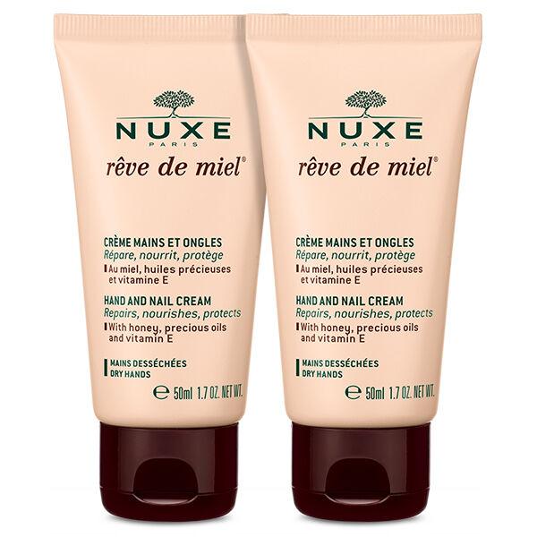 Nuxe Reve de Miel Crème Mains et Ongles Lot de 2 x 50ml