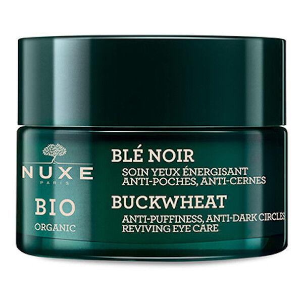 Nuxe Bio Soin Yeux Energisant Anti-Poches Anti-Cernes Blé Noir 15ml